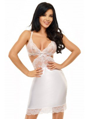 Beauty Night: Adelaide chemise white
