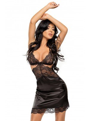 Beauty Night: Adelaide chemise black