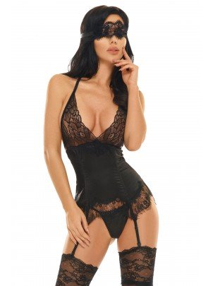 Beauty Night: Eve corset with mask