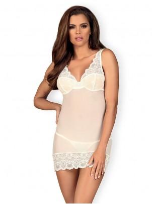 Obsessive Lingerie: 853 chemise bianca