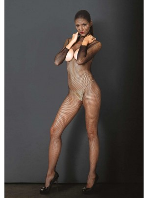 Kink Collection: Bodystocking integrale con cappuccio